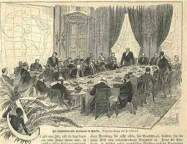 La Conférence de Berlin en 1884