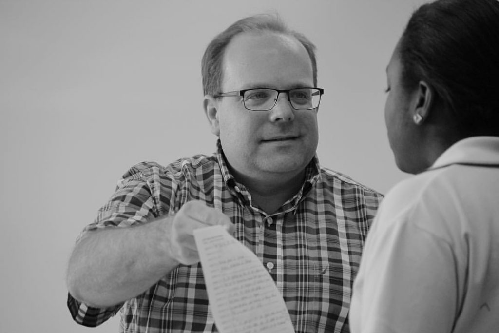 Marc-Olivier Mailhot, enseignant en univers social